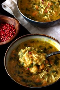 Curry Linsensuppe